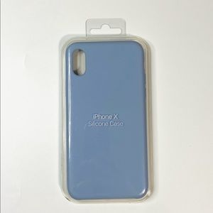 Silicone iPhone X/XS Case Blue NEW Apple